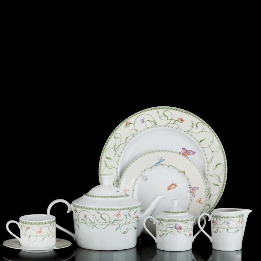 Сервиз чайный Tirschenreuth Баттерфляй 16 предметов