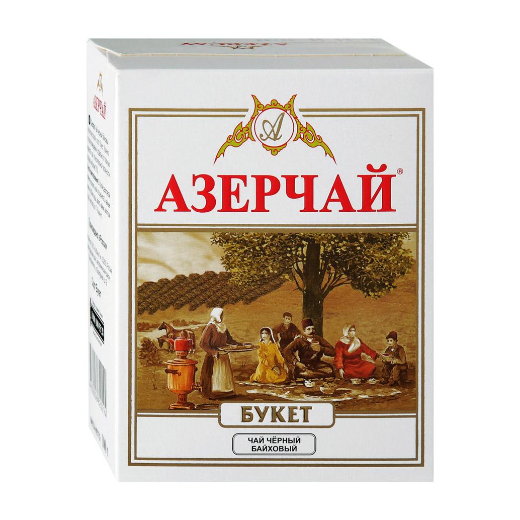 Чай Azercay Букет черный байховый 100 г maharaja tea магури билл чай черный байховый 100 г
