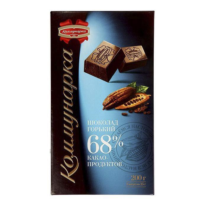 шоколад коммунарка горький десертный 85% 90 г Шоколад Коммунарка горький 68% 200 г