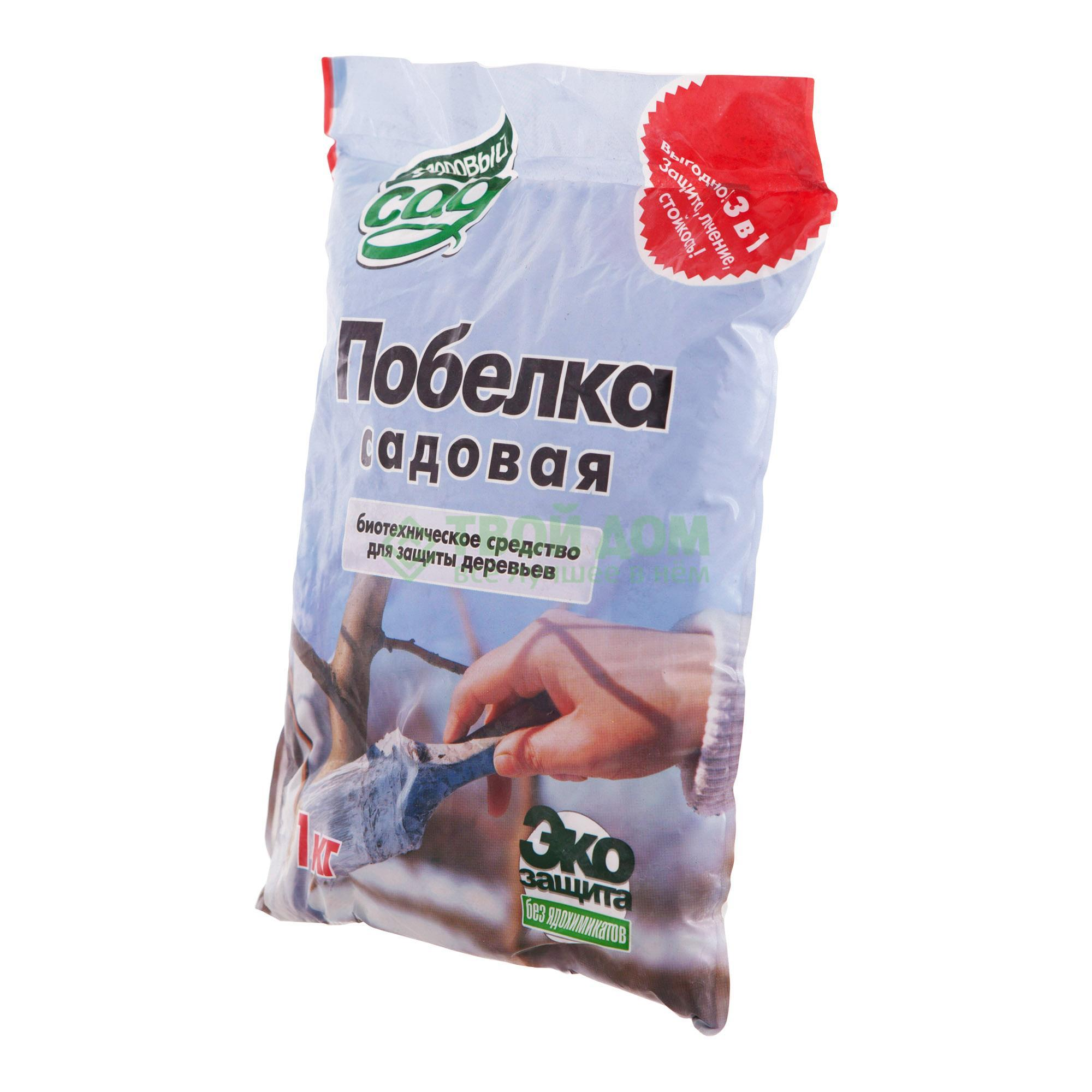 Краска-побелка Кострома садовая 1 кг фото