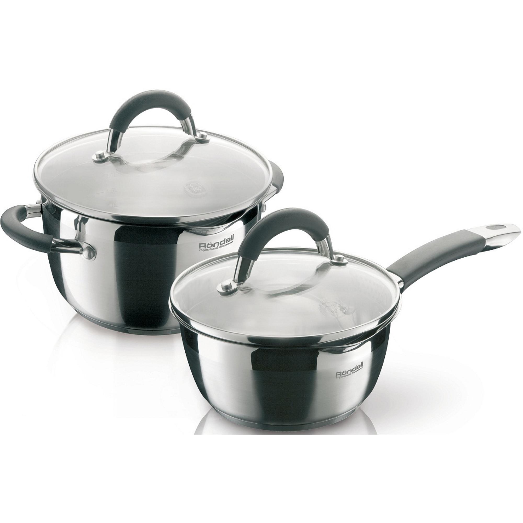 Набор посуды Rondell Flamme 4 предмета
