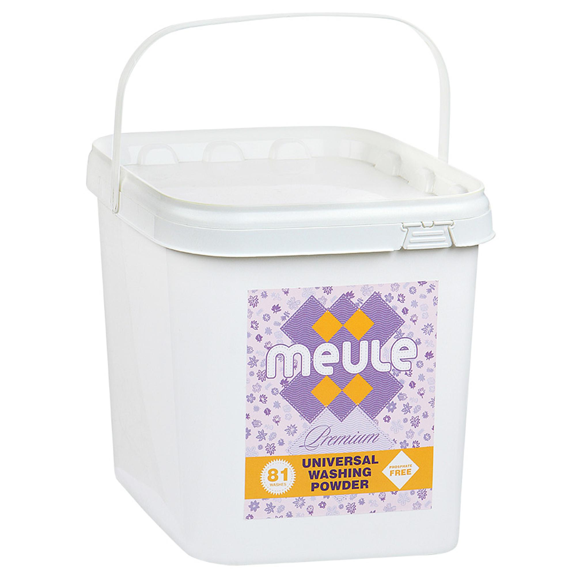 Стиральный порошок Meule бесфосфатный высококонцентрированный универсальный 3 кг