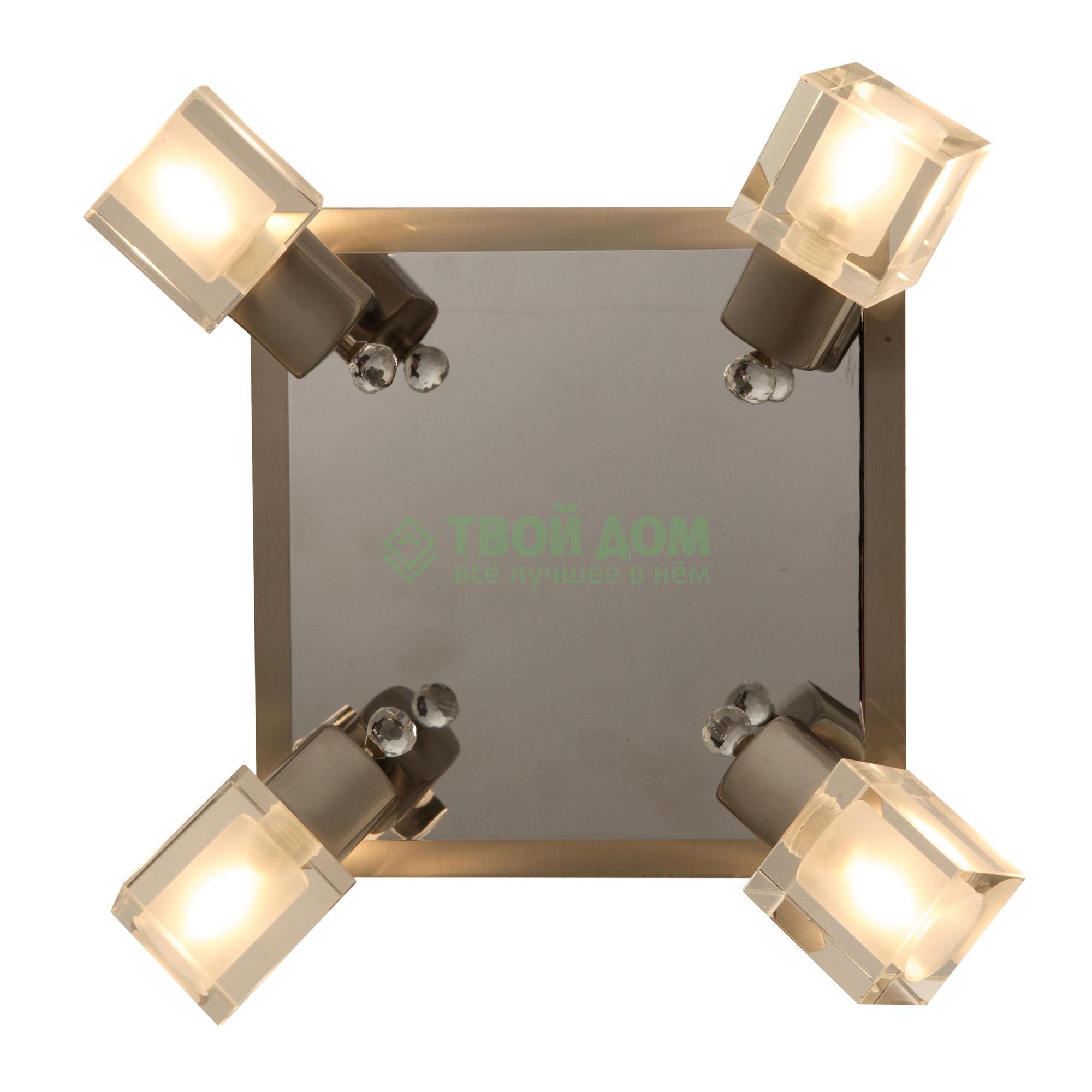Настенный светильник ESTO ICE. ХРОМ. 4XG9 40W