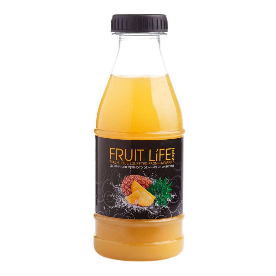 Сок FRUIT LIFE juice прямого отжима ананасовый  250 мл
