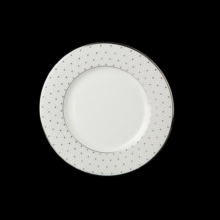 Фото - Набор тарелок Hankook/Prouna Принцесс с кристаллами Swarovski 21,5 см 6 шт набор суповых тарелок hankook prouna эпл би 23 см 6 шт