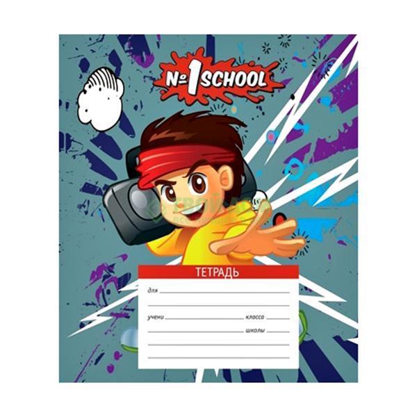Тетрадь №1SCHOOL «Мальчик-аниме» 24 листа линия (249010) фото