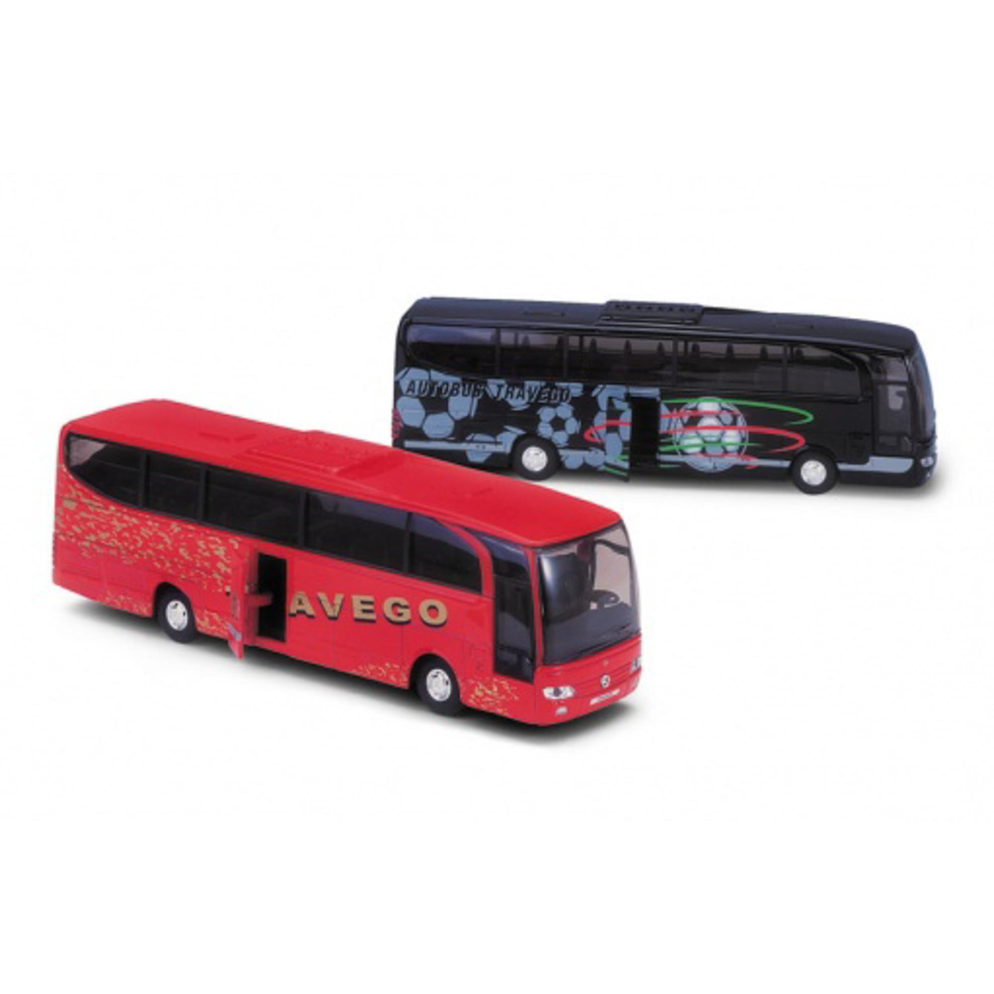 Игрушка модель автобуса Mercedes-Benz.