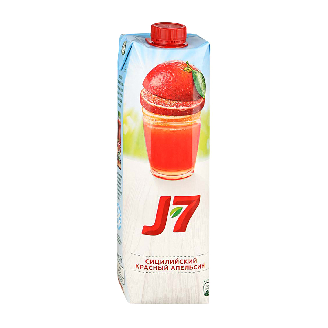 Фото - Нектар J7 Сицилийский красный апельсин 0,97 л j7