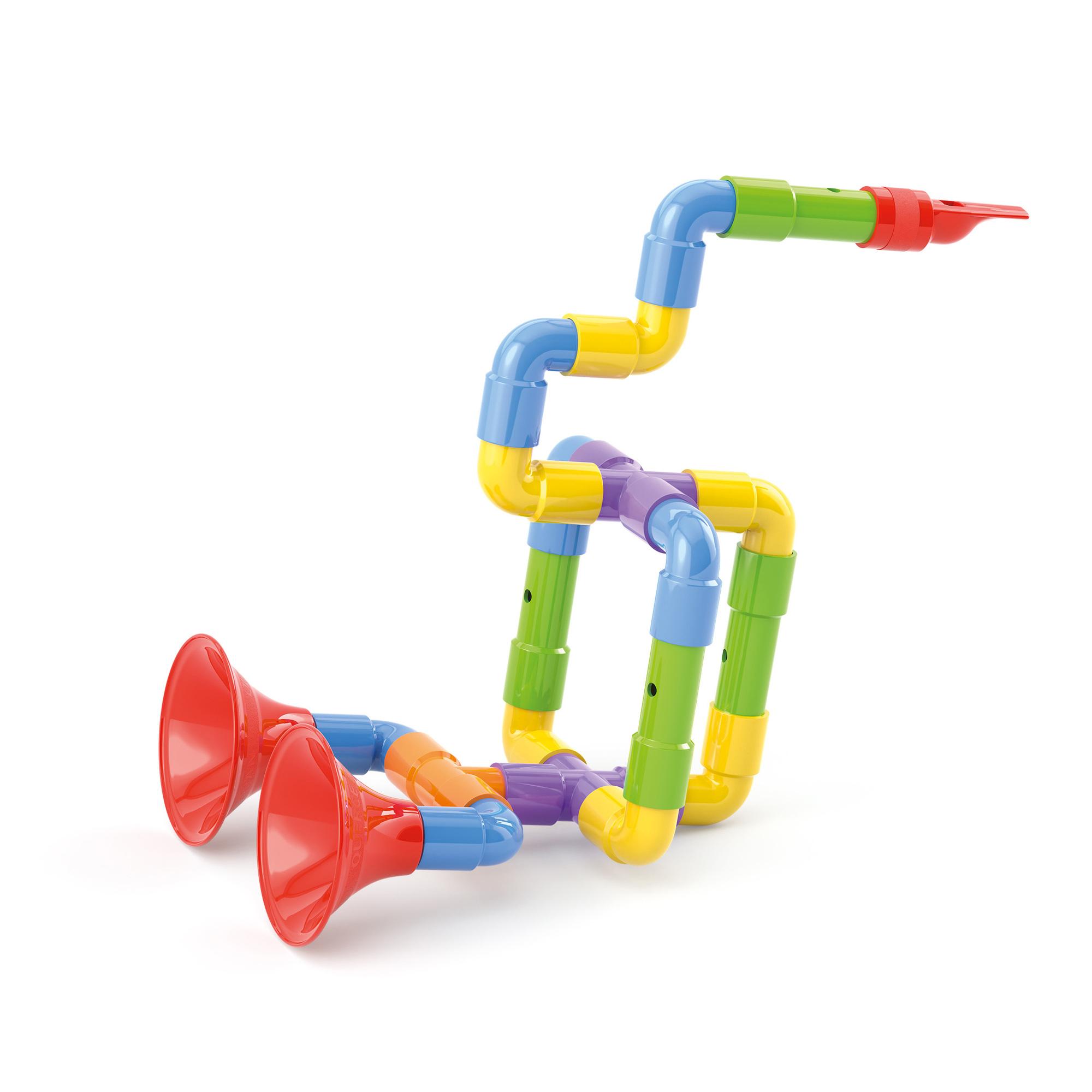 Фото - Конструктор Quercetti Супер саксофон музыкальный инструмент