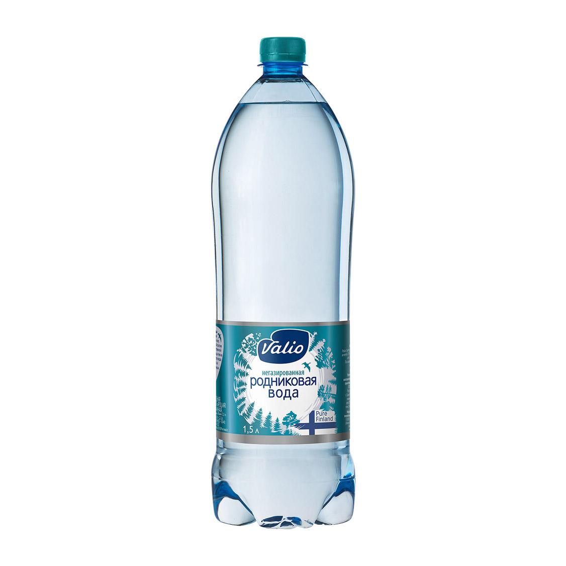 Фото - Вода Valio Spring негазированная 1,5 л йогурт valio clean label малибу