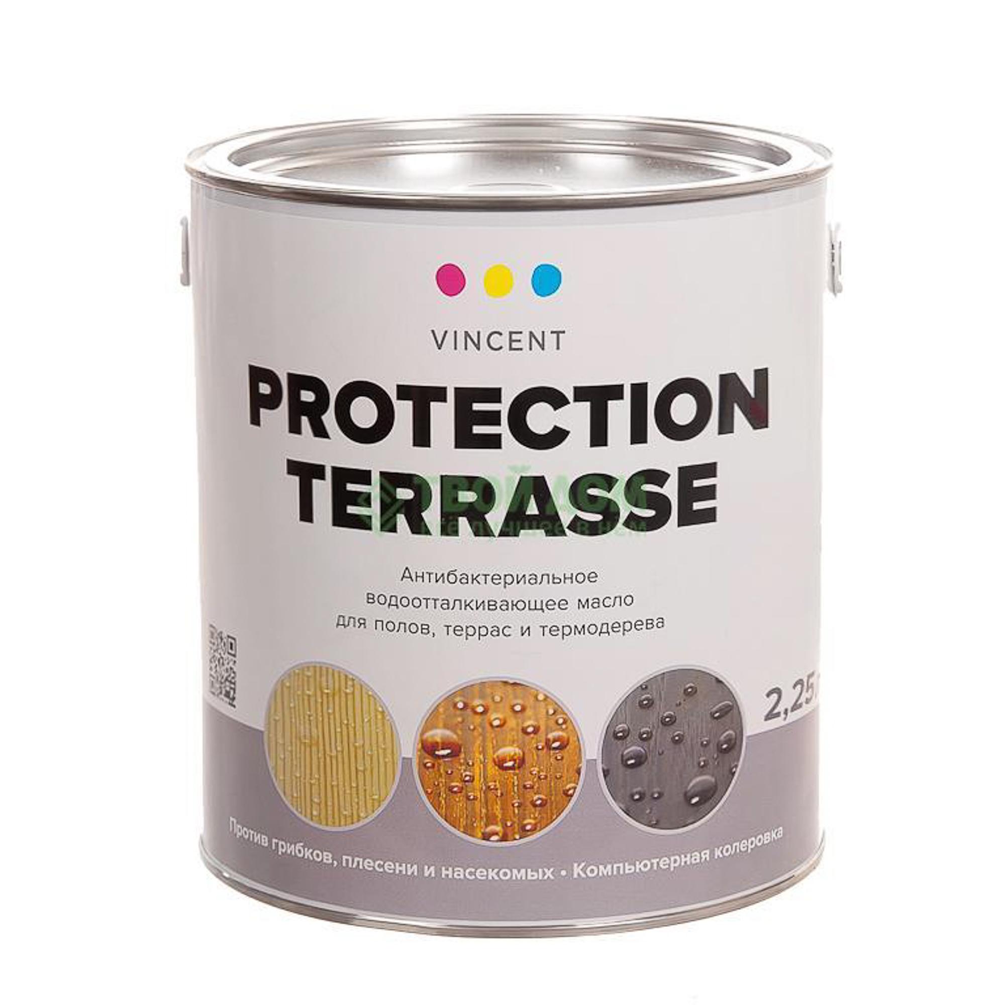 Антисептик Vincent Protection Terrasse 2.25 L