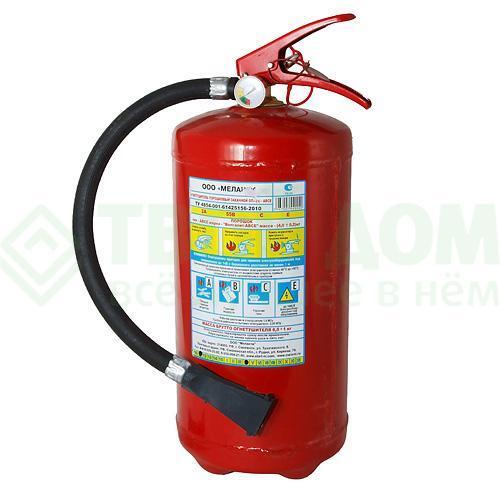 порошковый огнетушитель меланти оп 2 автомобильный Огнетушитель Меланти Оп-4(з) металл