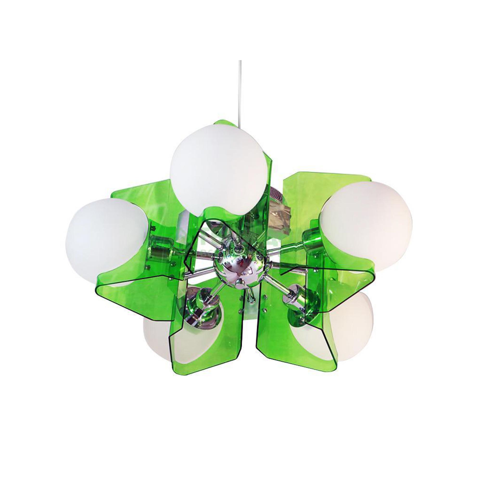 Потолочный светильник Cosma Lighting C-668-5CH-DG светильник потолочный idlamp cosma 395 3pf led white