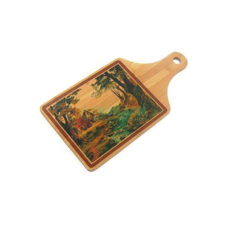 Разделочная доска Hans&gretchen Доска кухонная бамбук с дек 36x18x1см (28HS-3509)