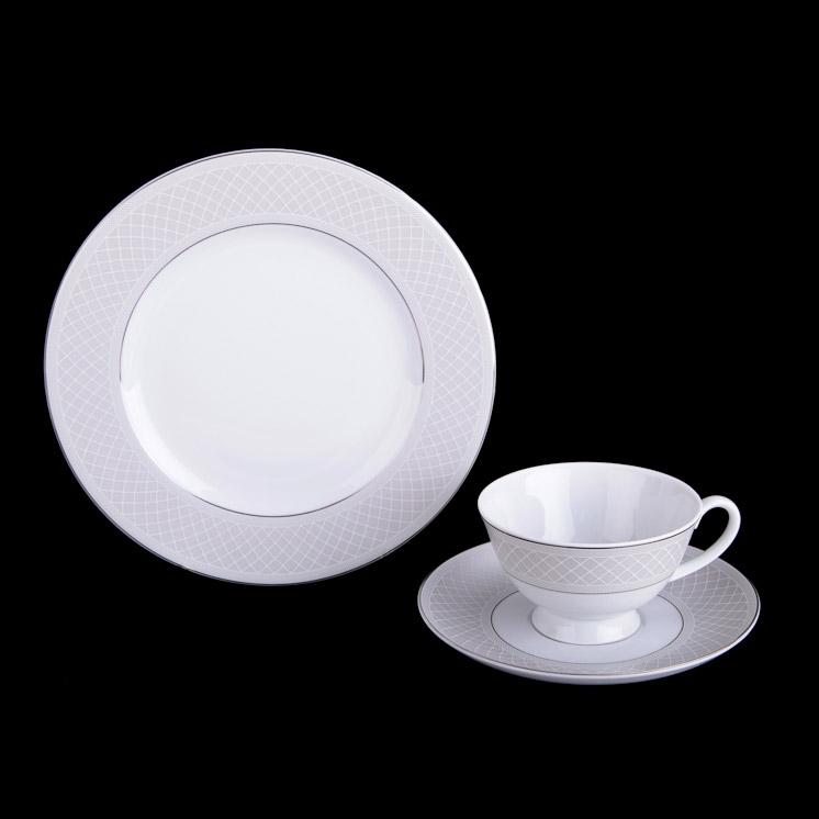 Набор чайный Tirschenreuth Скания 12 предметов набор салатников tirschenreuth из 6 предметов колин