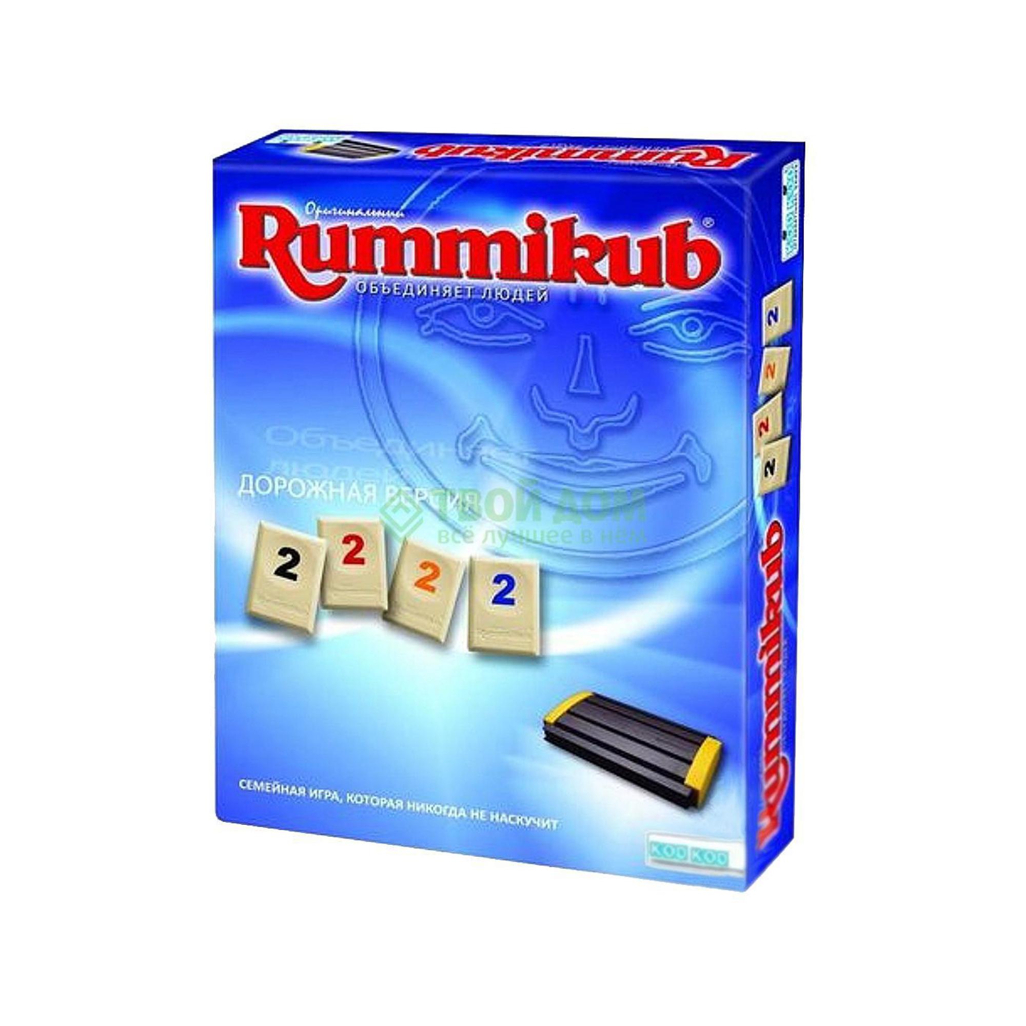 Настольная игра Kodkod Rummikub дорожная версия
