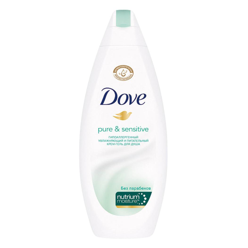 Крем-гель для душа Dove Гипоаллергенный для чувствительной кожи 250 мл недорого