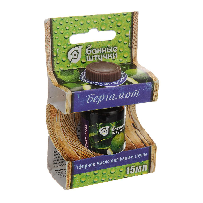 Купить Эфирное масло Банные Штучки Бергамот 15 мл, Банные штучки, Россия