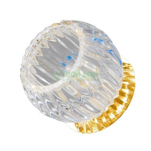 Встраиваемый Elvan Ct622-Cl/Gd светильник точечный675 cl gd elvan