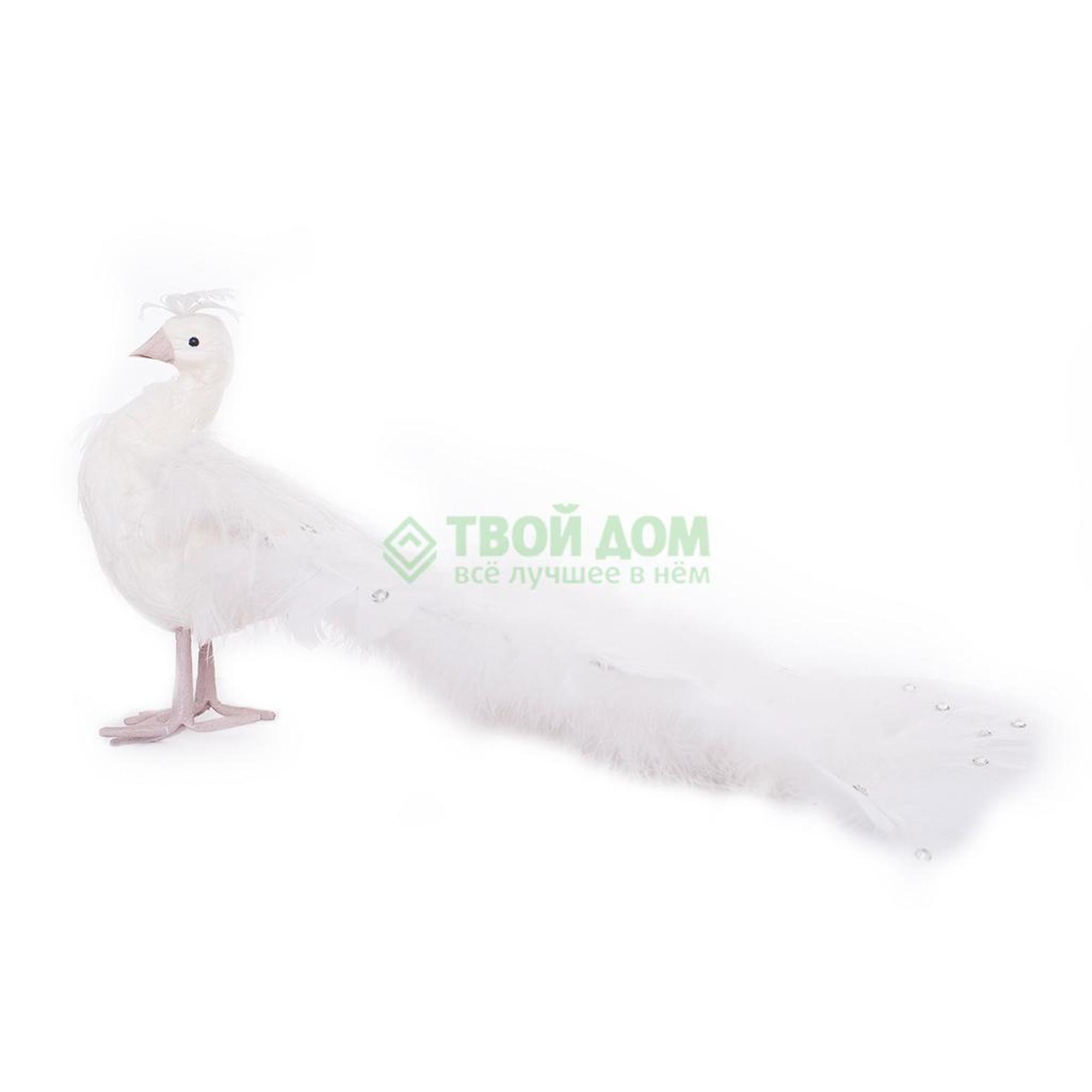 Фигурка Kaeming Павлин белый 48 см (727196)