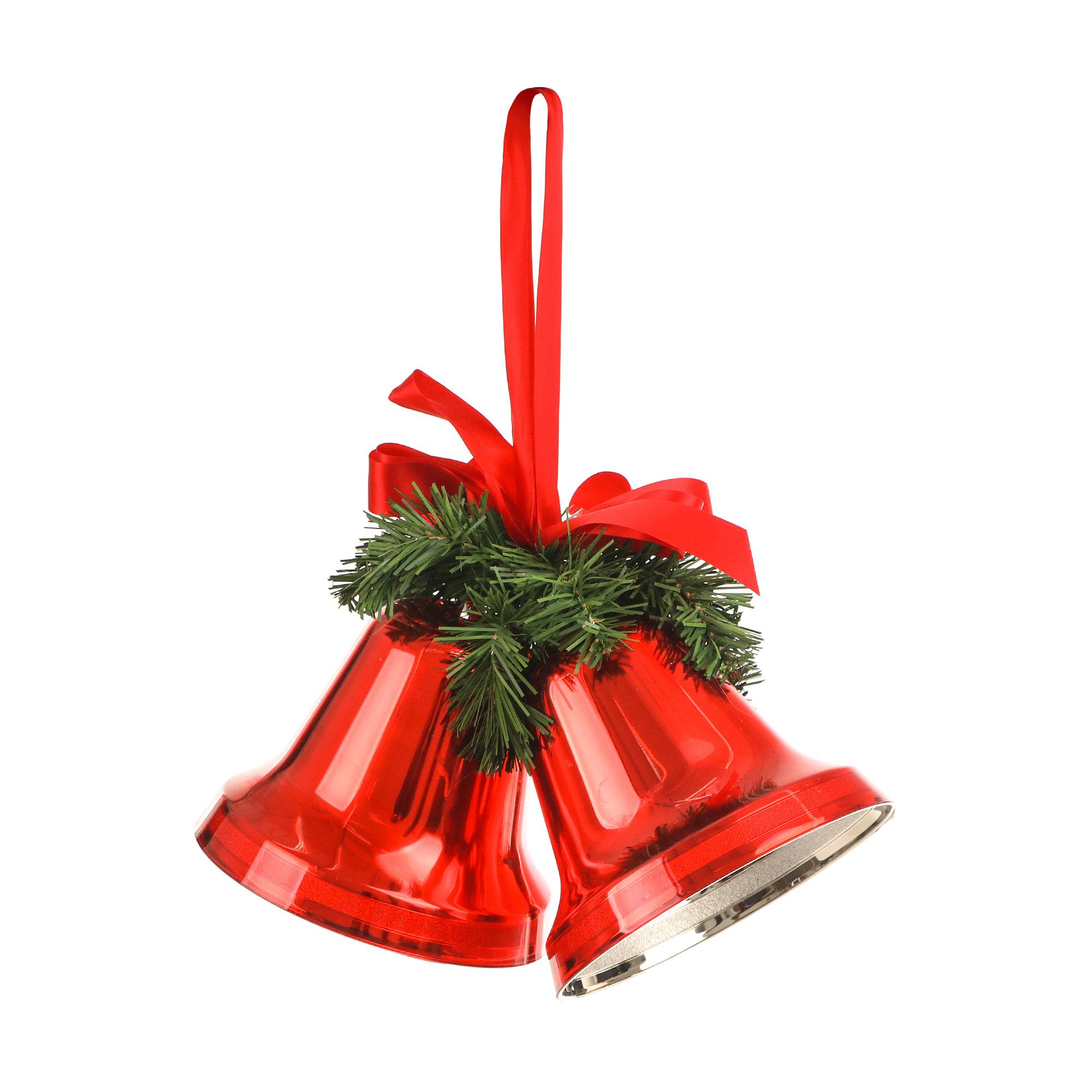 Колокольчики новогодние Weiste 13 см