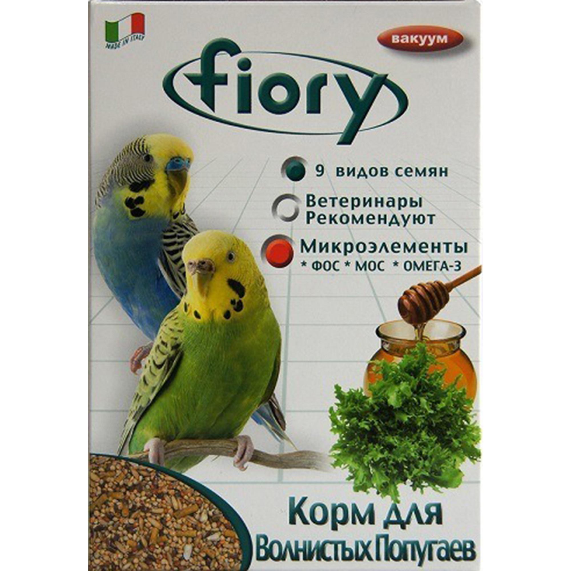 Фото - Корм для птиц FIORY Parrocchetti Africa для средних попугаев 800г fiory fiory корм для средних попугаев parrocchetti african