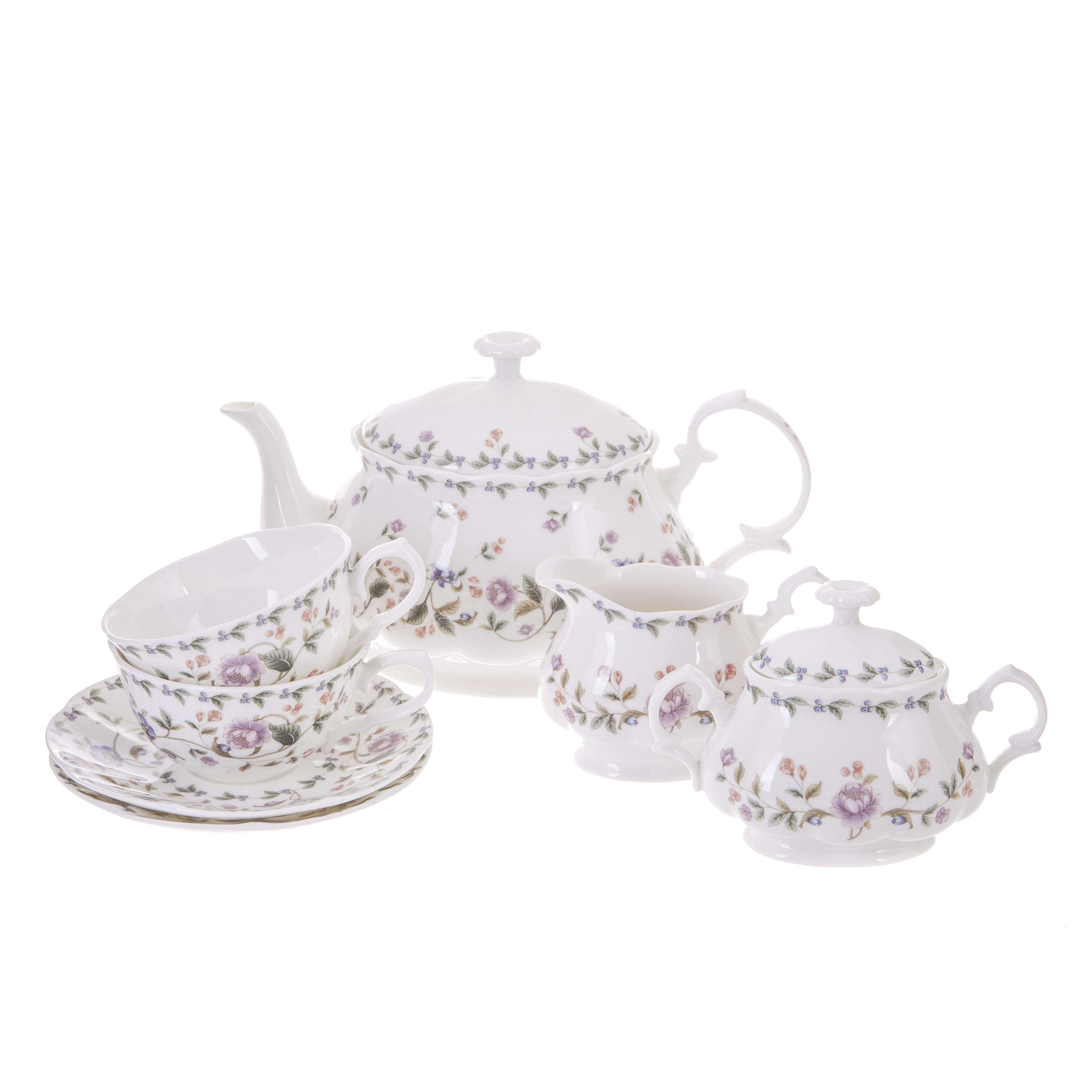 Сервиз чайный Hatori Санни Гарден Империал 17 предметов Н 1114000/14660