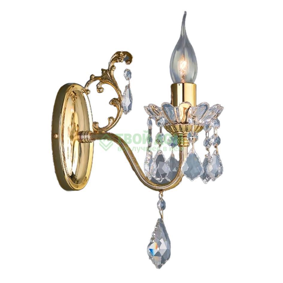 Бра Ruggiu Lam 1063/1 Gold+Crystal бра lam 975 1 oro