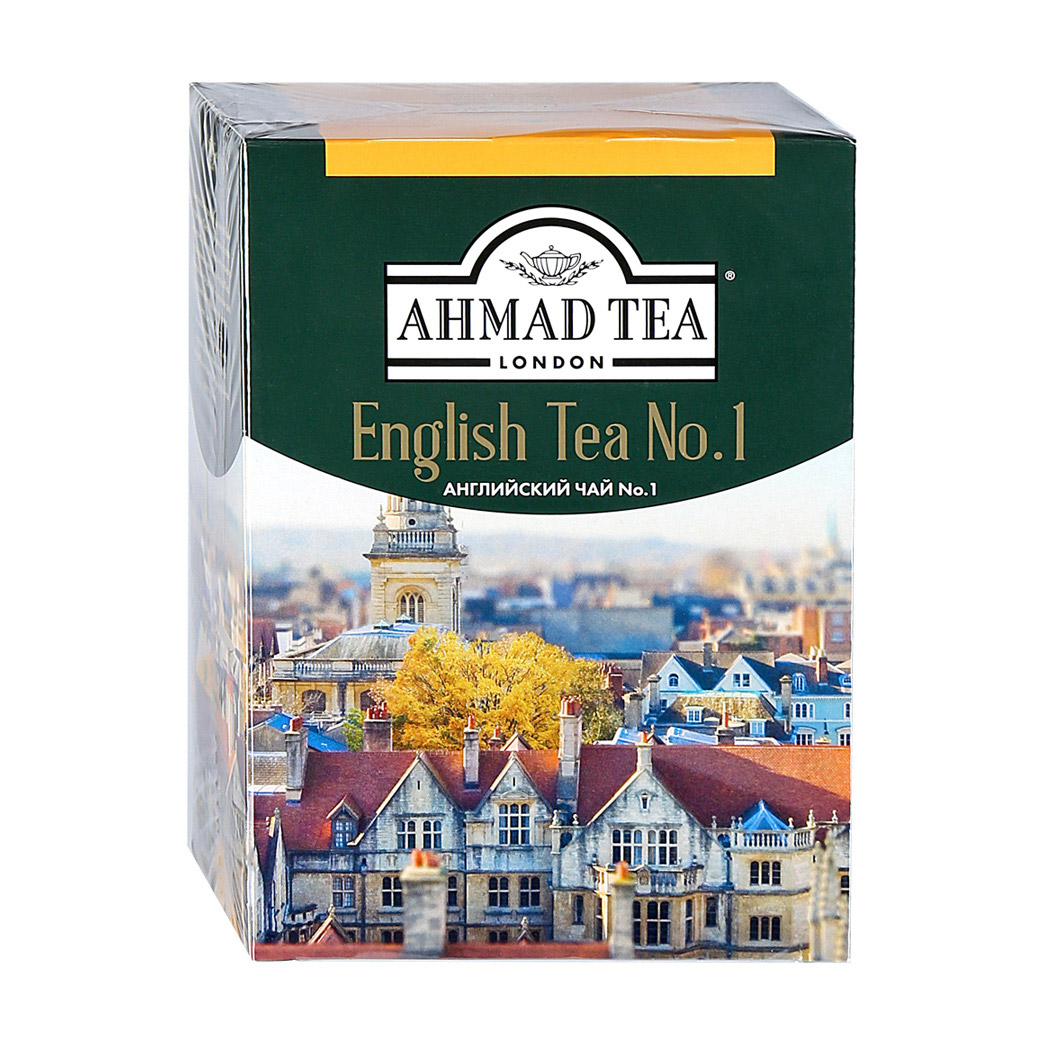 Чай Ahmad Tea English No.1 черный 200 г
