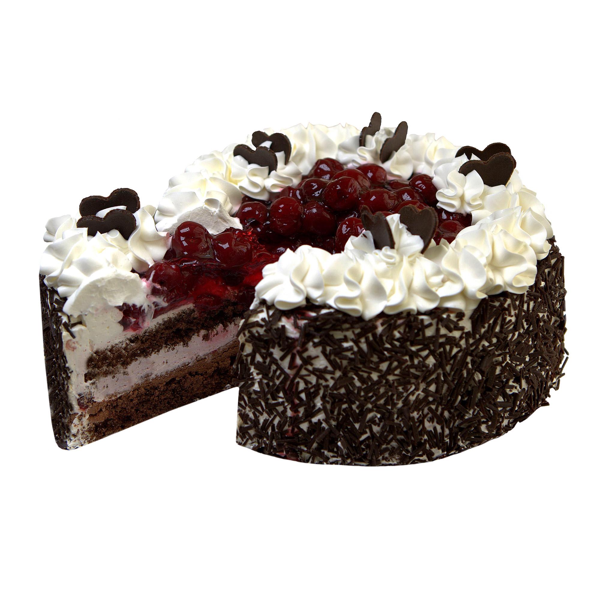 Вишнево-шоколадный торт Шереметьевские торты 1,5 кг