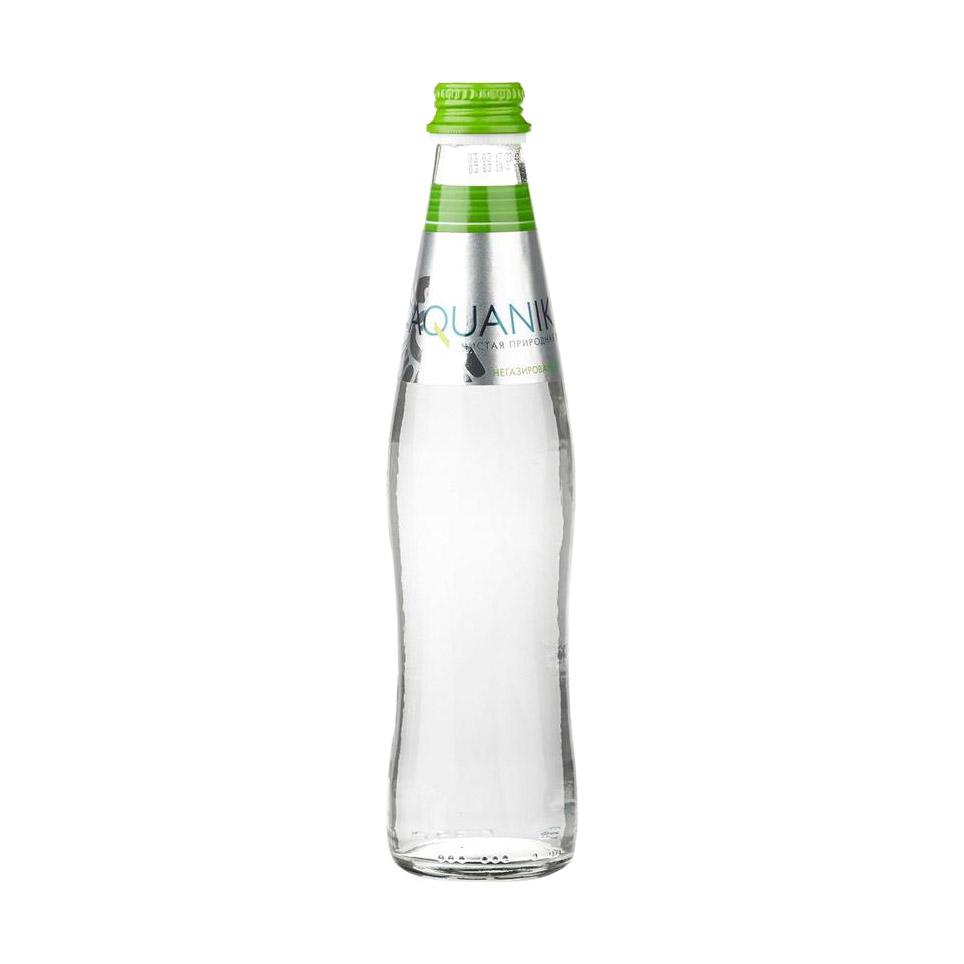 Фото - Вода питьевая Акваника негазированная 0,35 л морс акваника из клюквы малины и земляники 6 шт по 1 л