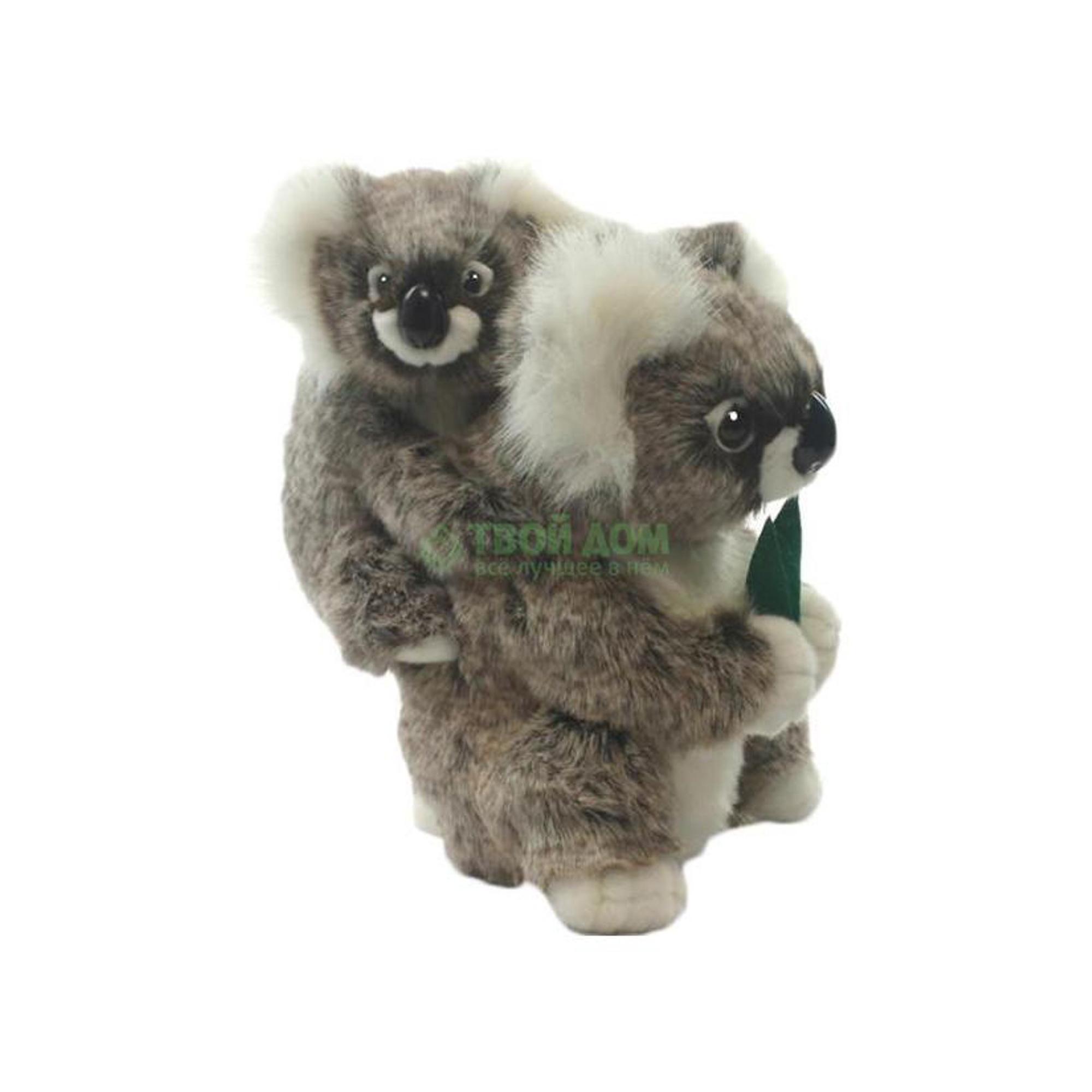 Мягкая игрушка Hansa Коала с детенышем 28 см (2728)