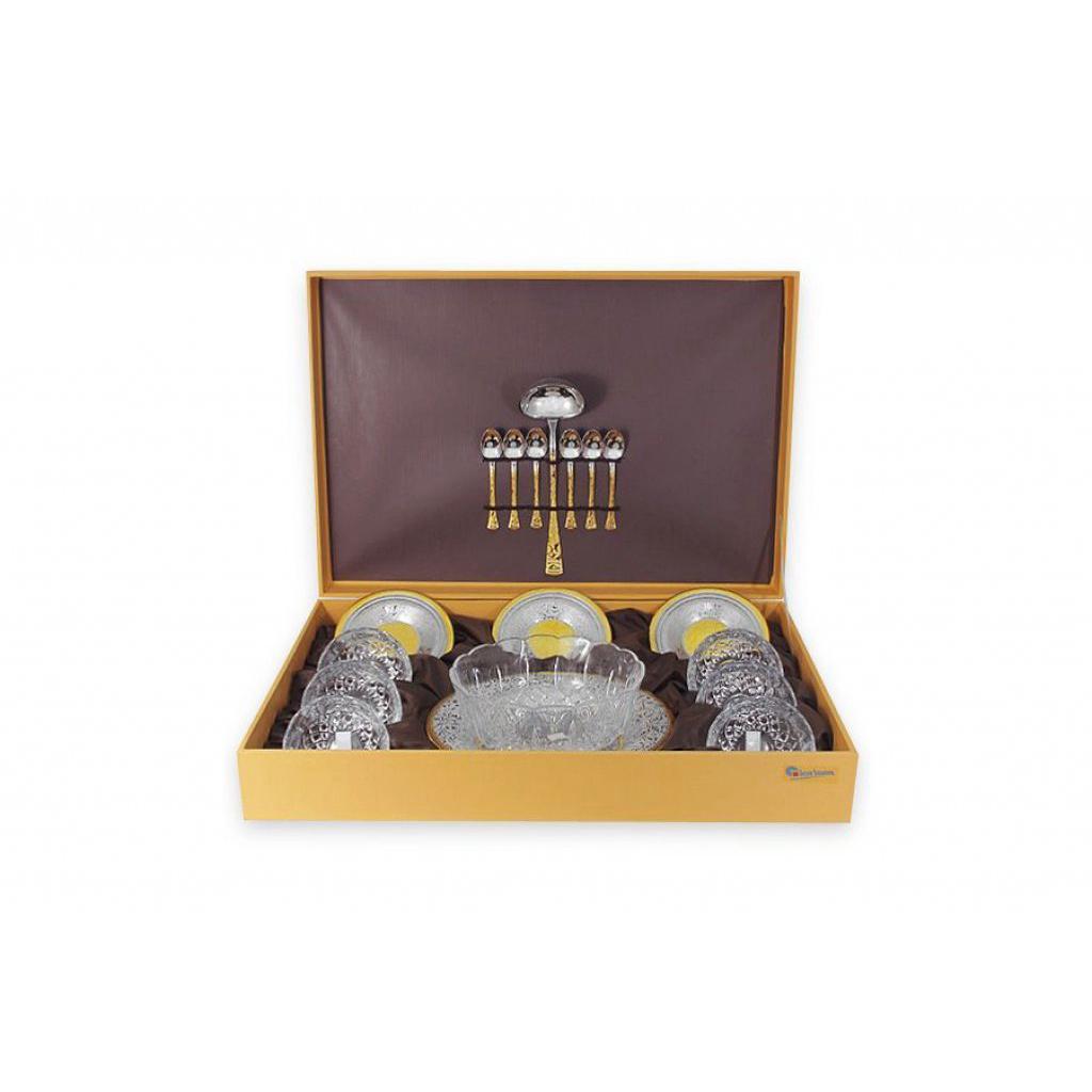 Набор для салата Giorinox из 21 предмета Dubai Gold and Silver