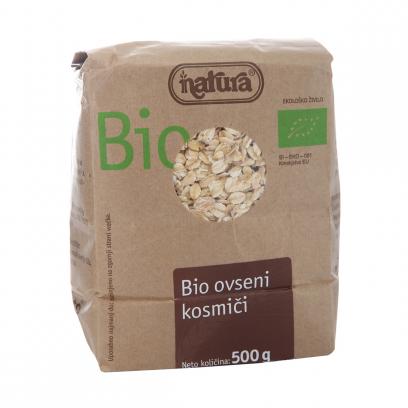 Хлопья Natura Bio овсяные органические 500 г