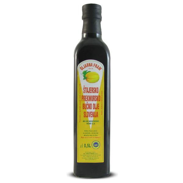Масло тыквенное FRAM Oljarna 500 мл