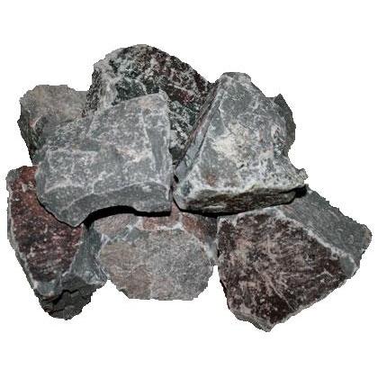 Камень для бани и сауны Огненный Камень Порфирит 20 кг фото