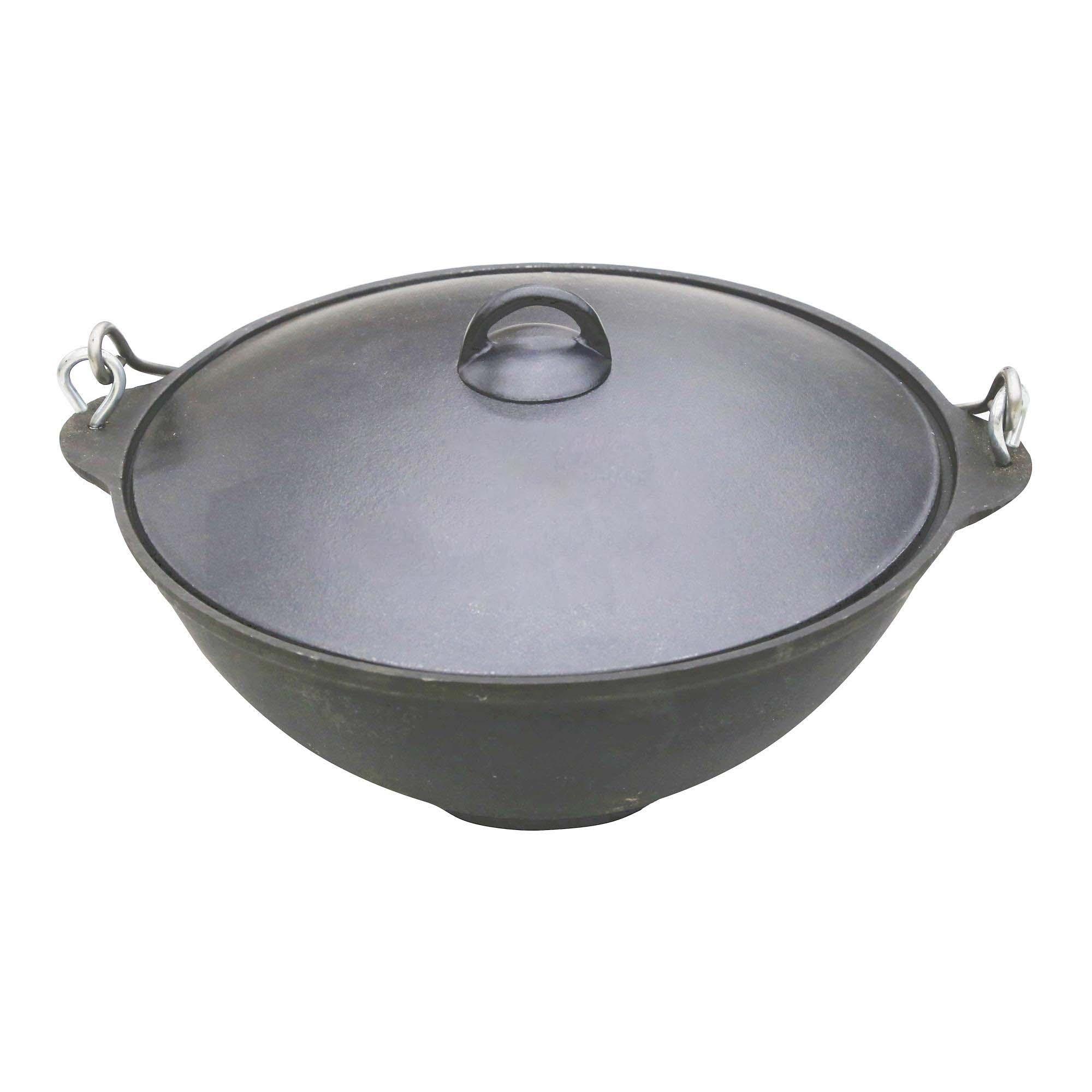 Купить Казан Болезино Чаша азиатская чугун 8 л (13027), Россия, черный