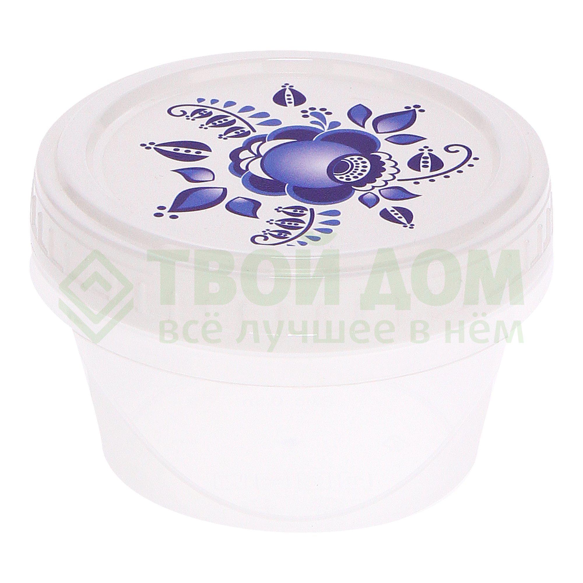 Купить Банка Phibo танго 0.3л (4311803), Россия, белый, оранжевый, пластик
