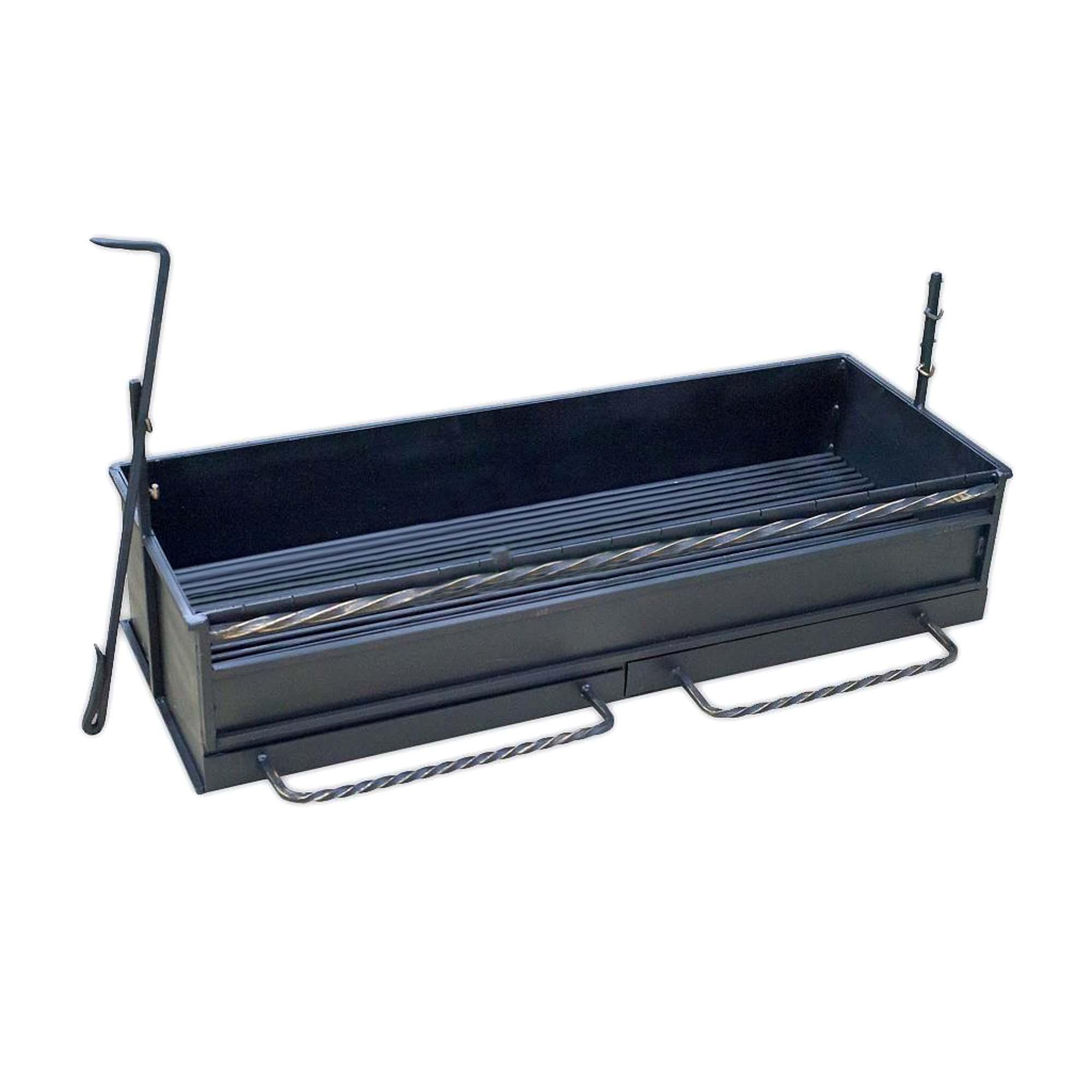 Мангал Аск-38 Топка мангальная 24х102х37 см (12026) мангал с крышей firewood pegas 168х76х209 см