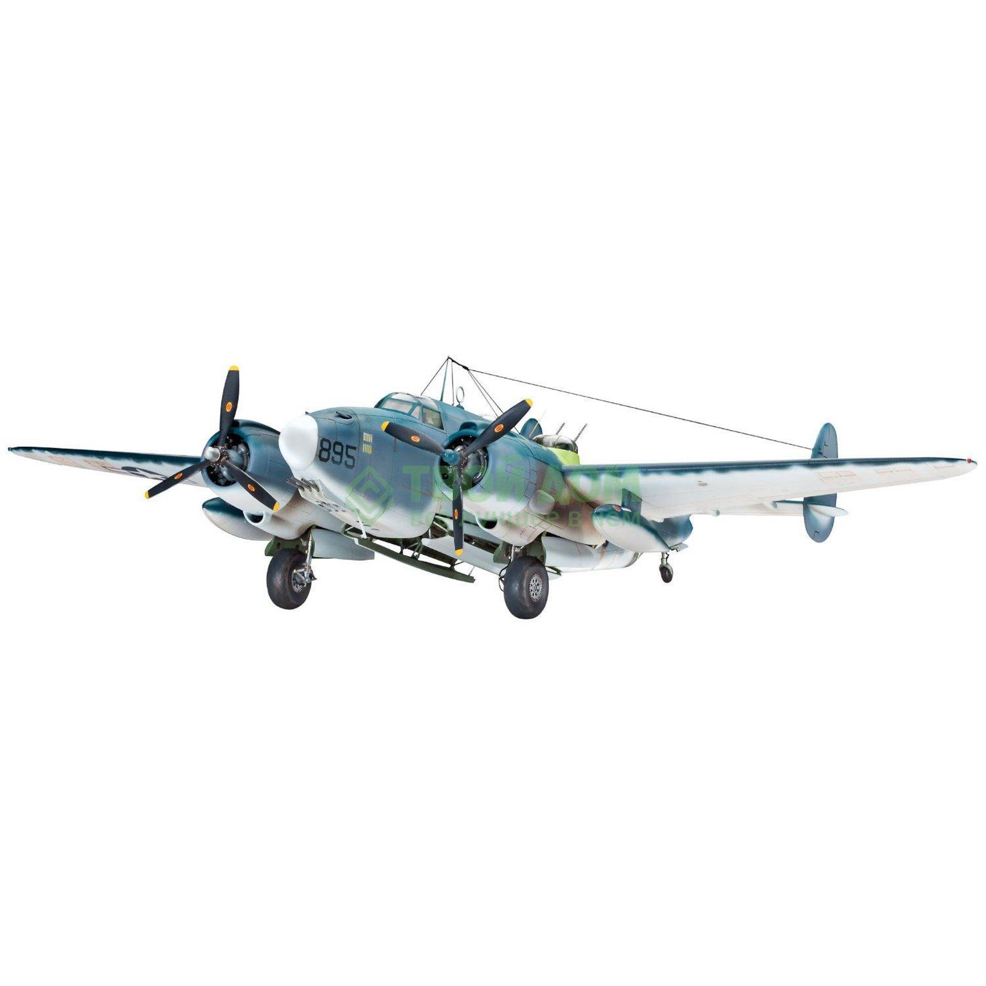 Купить Модель для склеивания Revell Самолет PV-1 Ventura (04662R), Китай, серый, Набор для моделирования