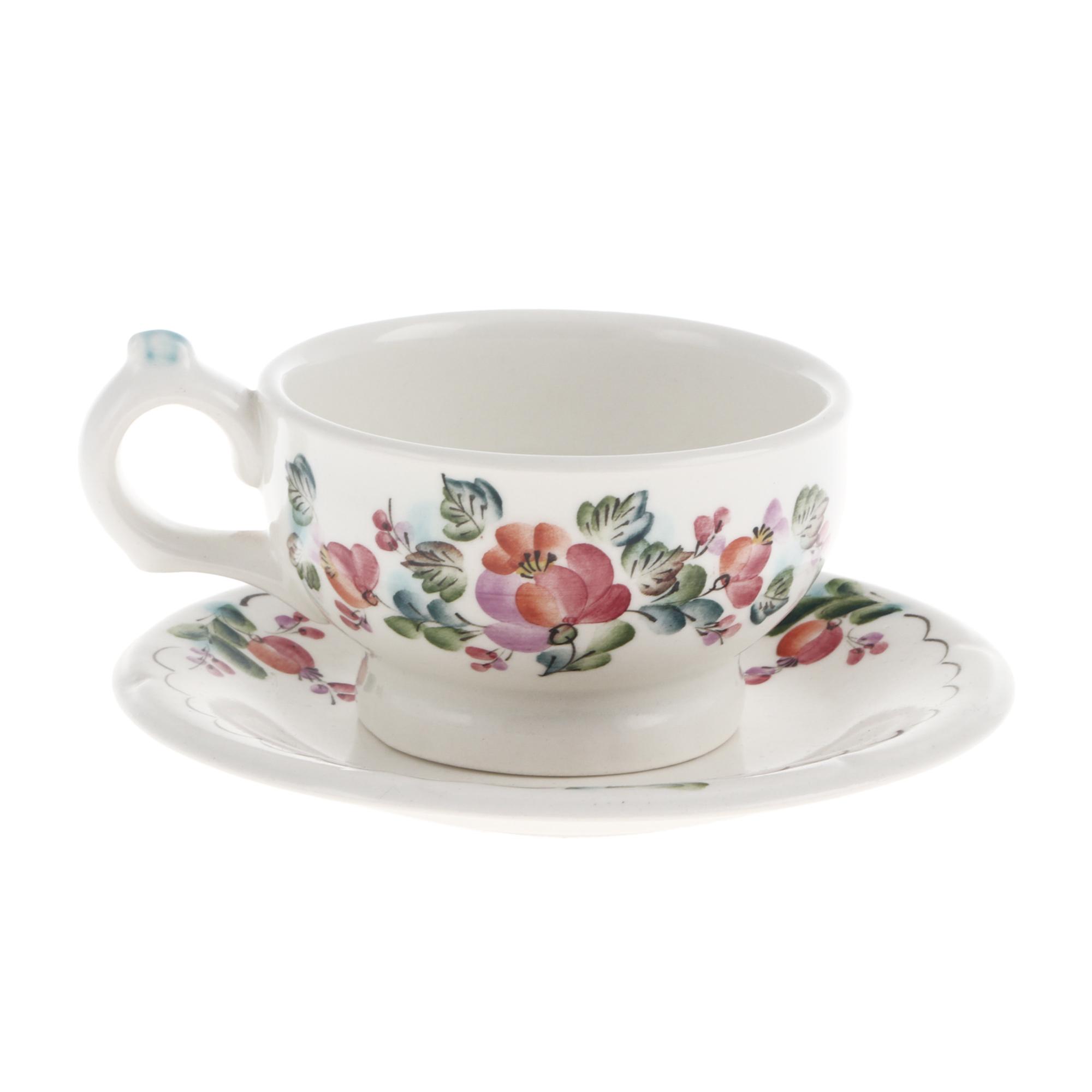 Фото - Пара чайная Семикаракорская керамика 370 мл чайная пара mercury 150 мл керамика