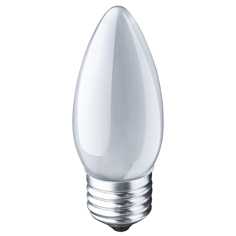 Лампа накаливания Navigator свеча матовая 60Вт цоколь E27
