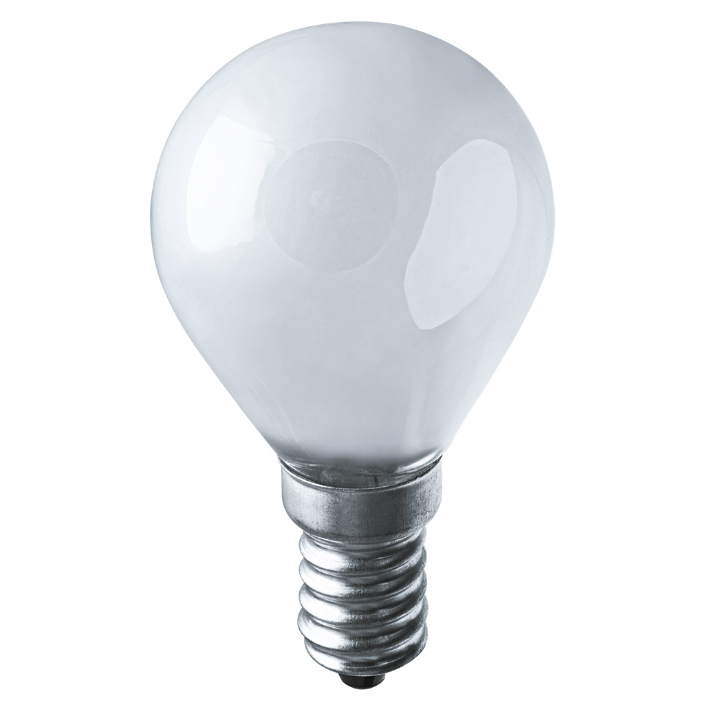 Лампа накаливания Navigator шарик матовая 40Вт цоколь E14