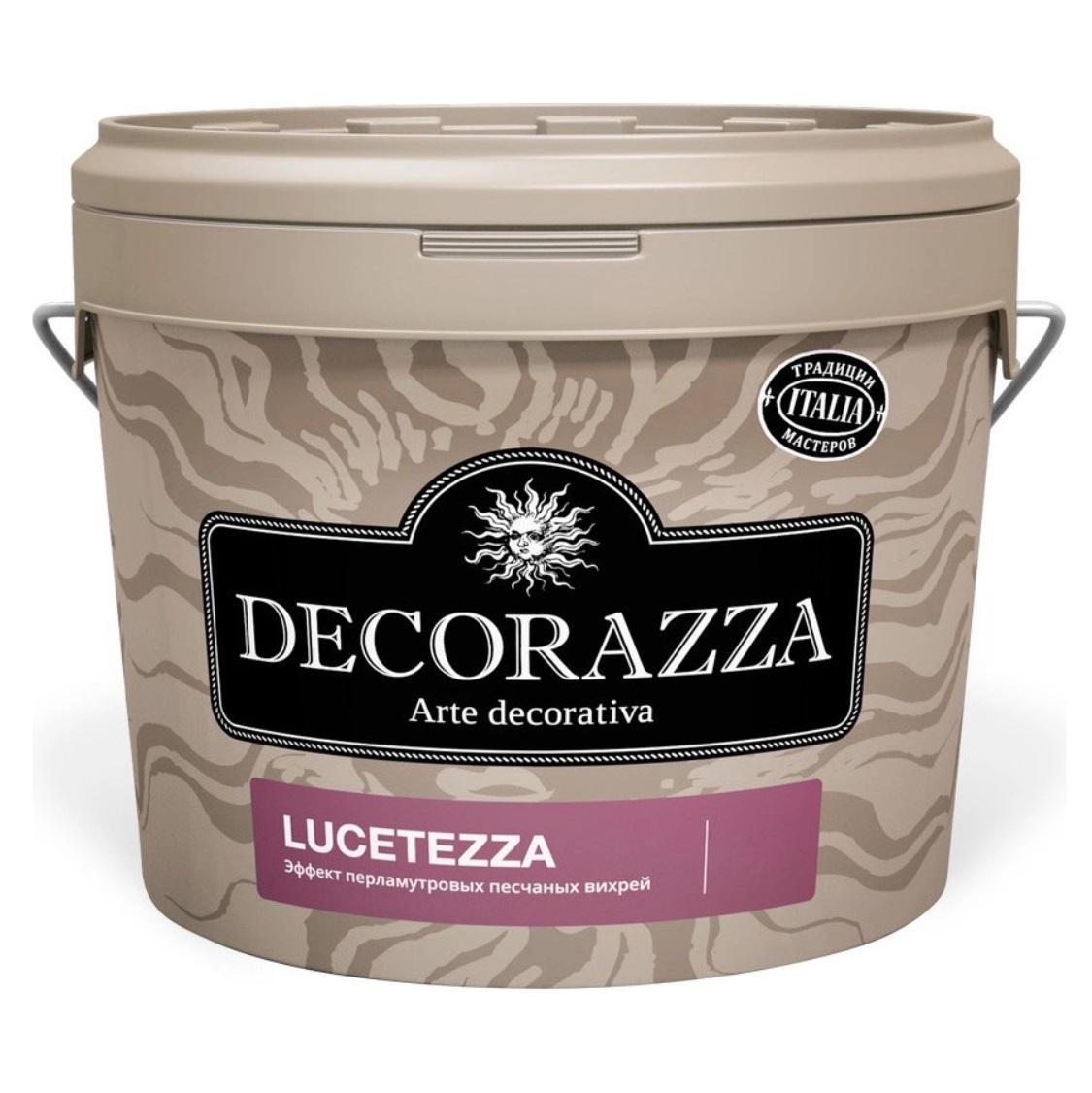 Декоративная краска Decorazza lucetezza база oro 5.0кг