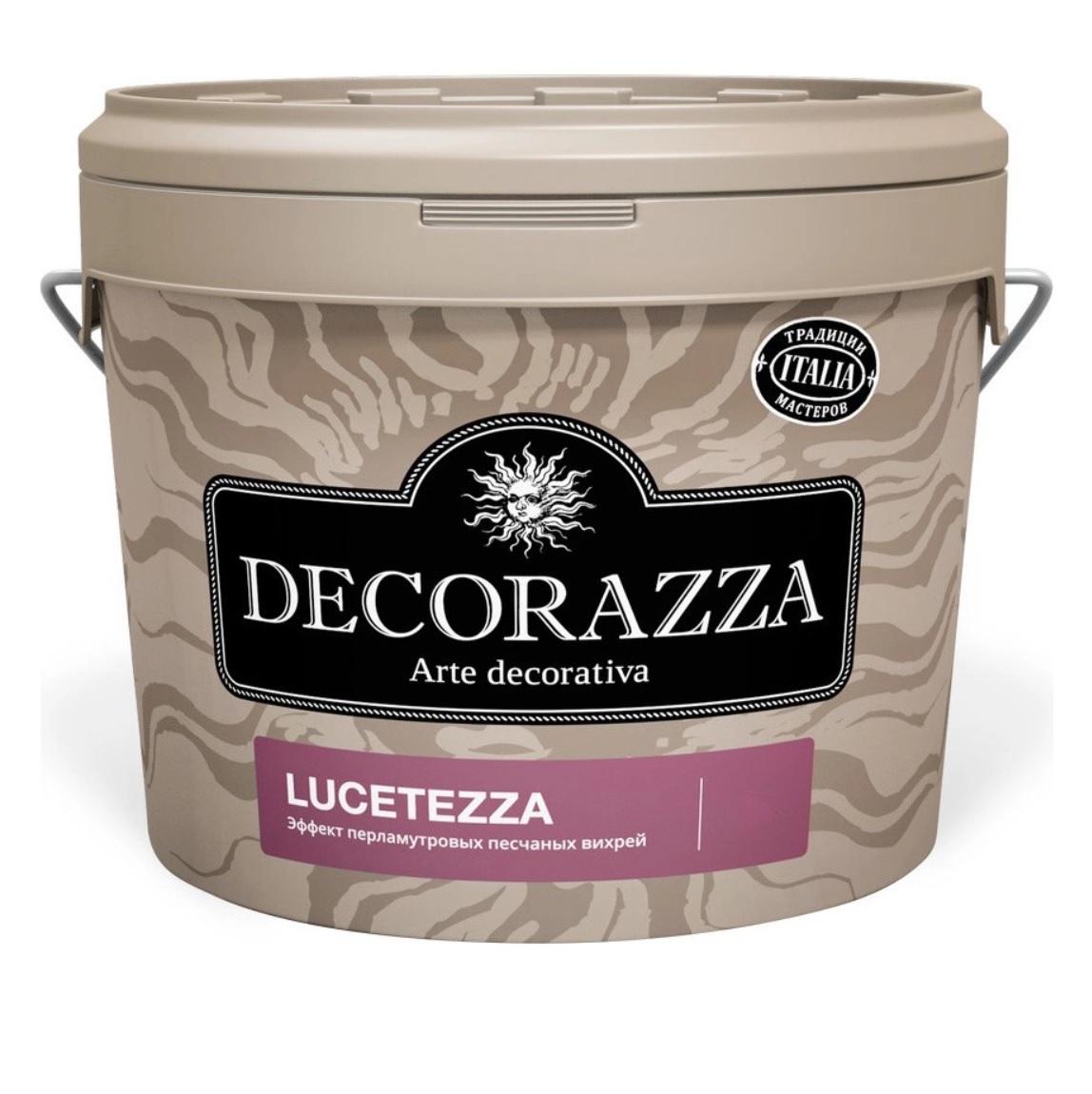Декоративная краска Decorazza lucetezza база aluminium 5.0кг