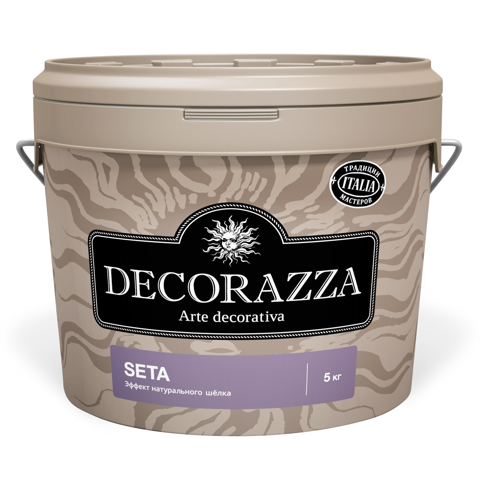 Краска Decorazza Seta Argento база серая 5 кг (DST001-5)