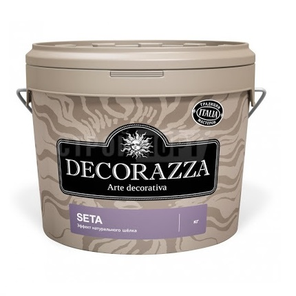 Декоративная краска Decorazza seta oro 5.0кг