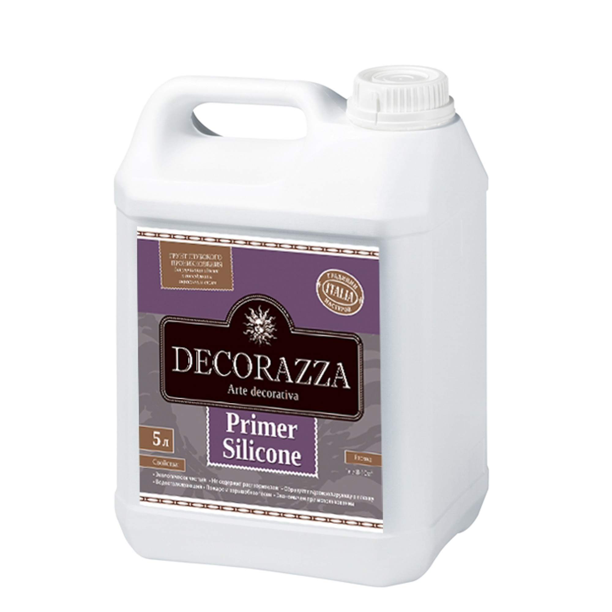 Грунтовка Decorazza Primer Silicone под Silideco 5 кг (DPRS-05)