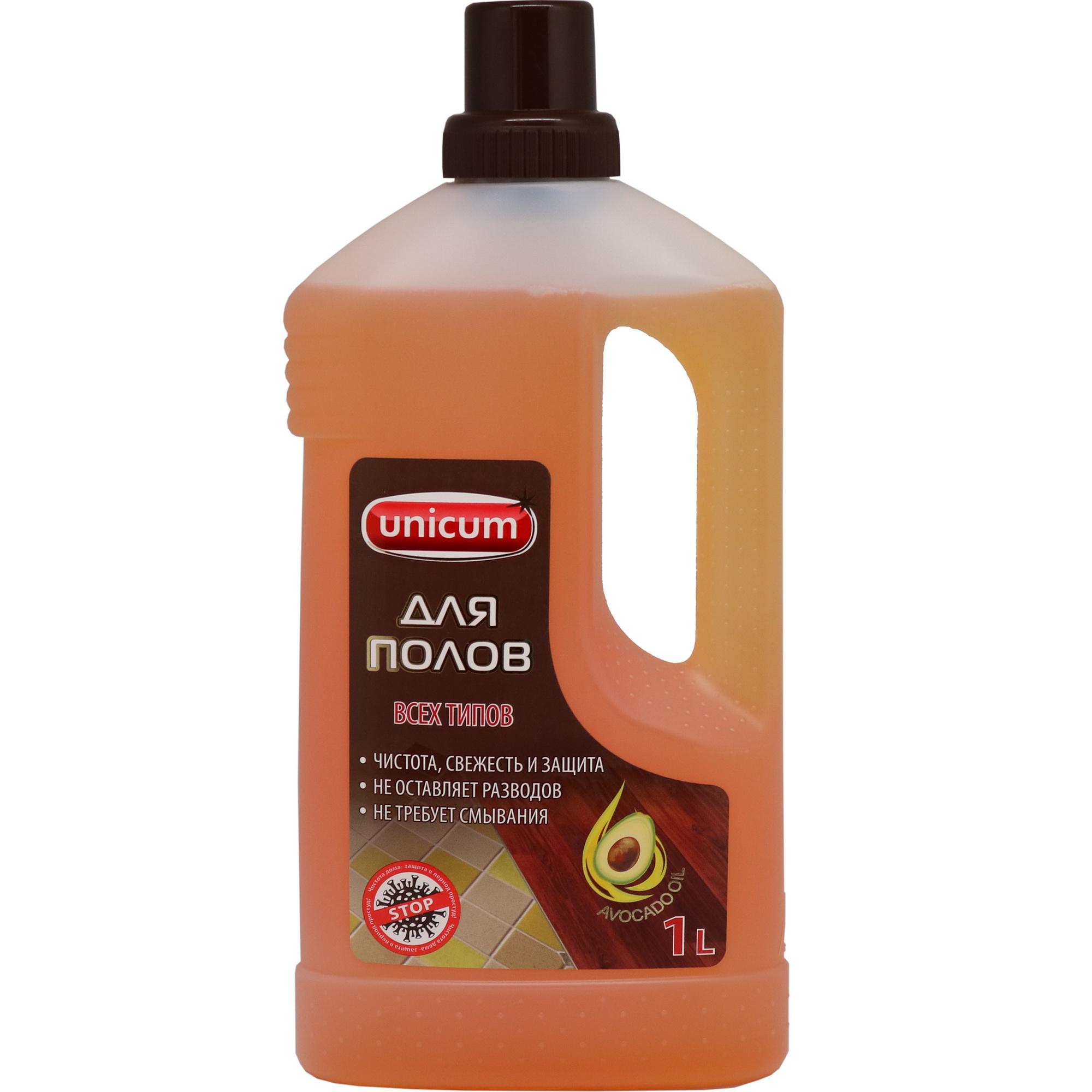 Купить Чистящее средство Unicum для мытья полов СПА 1 л, моющее средство, Россия