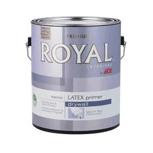 Краска Ace hardware corpor royal pva latex primer белый 3,78 л